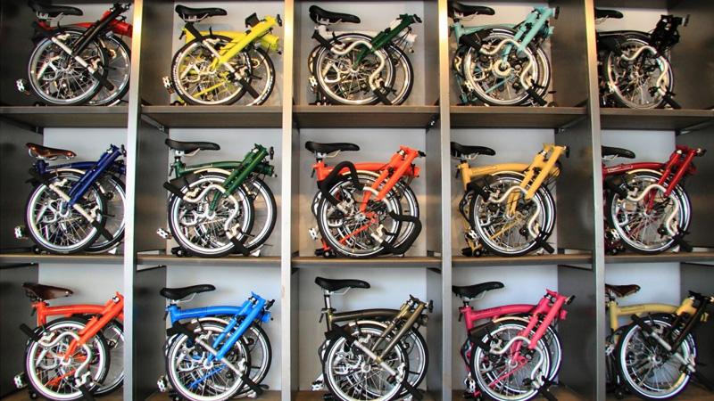 invenzione della bici pieghevole